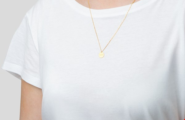 Syster P Breathe ketting (goud)